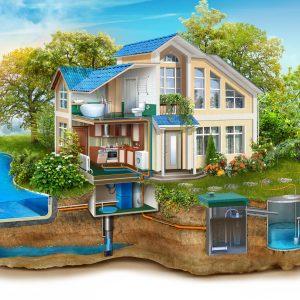 Водоснабжение загородного частного дома