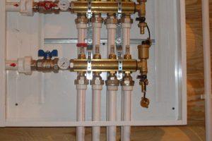 Монтаж водоснабжения в частном доме площадью 138 м2