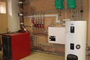 Ремонт системы и котла отопления в частном доме