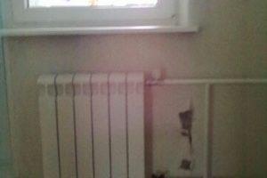 Замена старого радиатора отопления