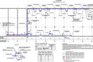 Проектирование линии отопления