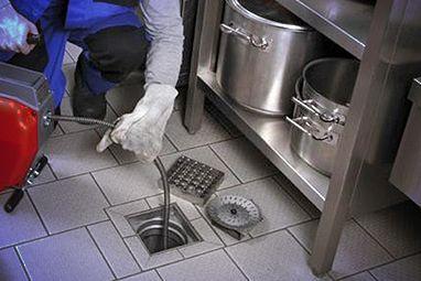 Прочистка канализации в кафе / ресторане