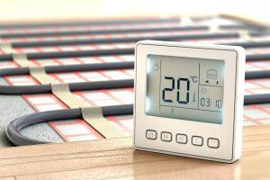 Установка терморегулятора для теплого пола